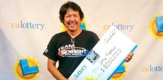 ยิ้มรับโชค หนุ่มไทยดวงเฮงถูกลอตเตอรี่รางวัลใหญ่สหรัฐ 165 ลบ.